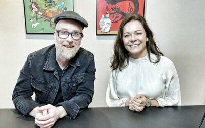 Podcast med Rasmus Alenkær og Rikke Christensen